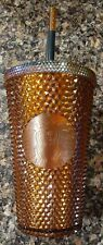 STARBUCKS 2021 Limited Edition 50 Years Gold Studded 16 oz Tumbler Cup BRAND NEW