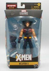 Marvel Legends Weapon X Action Figure 6-Inch Sugar Man BAF Age of Apocalypse