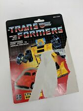 Vintage Hasbro 1985 Transformers G1 BUMBLEBEE Minibot Cardback Only
