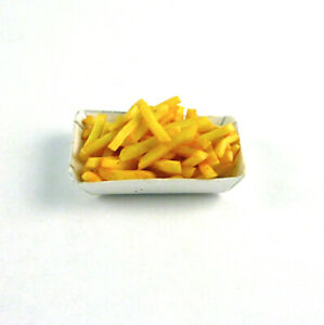 Dollhouse Miniature Basket of French Fries, F004