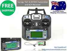 Turnigy TGYi6 AFHDS 2.4GHz Transmitter & 6CH Receiver Mode 2RC Plane Heli Multi