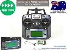 Turnigy TGYi6 AFHDS Transmitter & 6CH Receiver (Mode 2) RC Plane Heli Multi