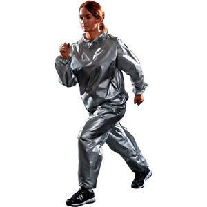 Lifeline USA Natural Fitness Warrior Sauna Suit - Gray