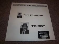 CHUCK BROWN & THE SOUL SEARCHERS-ANY OTHER WAY TO GO NEW SEALED GERMAN VINYL LP