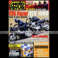 MOTO REVUE N°3586 APRILIA CAPONORD MOTOBECANE 500 YAMAHA FZS 1000 FAZER FZ6 2003