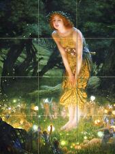 Art Mural Ceramic Backsplahs Bath Fantasy Tile #491