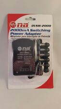 New 2000mA Universal Multi Voltage AC Adapter 3v 5v 6v 7.5v 9v 12v USB Charger