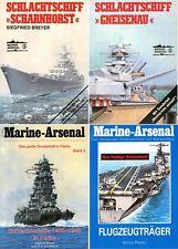 BREYER Siegfried, Schlachtschiff Gneisenau e altri 3 libri stesso argomento