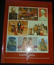 """""""DOLLS IN MINIATURE"""" by EVELYN ACKERMAN, ANTIQUE DOLL BOOK, DOLL HOUSE"""