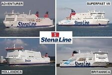 SOUVENIR FRIDGE MAGNET - FERRY LINE - STENA LINE IRELAND HOLLAND SWEDEN