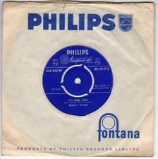 MARTY WILDE - IT'S BEEN NICE b/w BAD BOY, 1959, PHILIPS PB 972, EX/EX-