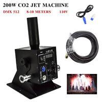 110V CO2 Jet Machine Jet Device Single Tube Cryo DMX DJ Night Club Stage