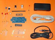 """Arduino Clone """"Androino"""" , Bausatz, inkl. 2099 Gehäuse, USB und Stromkabel"""