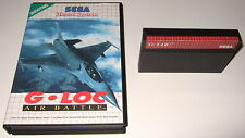 Sega Master System - G-LOC: AIR BATTLE - boxed