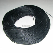 24AWG Black Color Soft Silicone Wire 20m with EU ROHS and REACH Directive