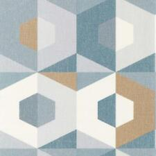 101376105 - Moove Geometric Blue Casadeco Wallpaper