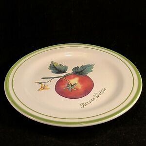 Williams Sonoma Boxcar Willie Luncheon Plate Heirloom Tomatoes Pasta Salad Dish