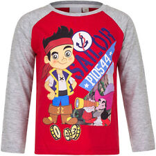 Jersey Camiseta manga larga Niños Jake y los piratas de Neverland 98 104 110 116