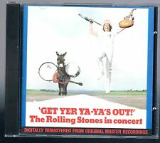 THE ROLLING STONES IN CONCERT GET YER YA-YA'S OUT! CD F.C.