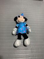 Disney Sparkle Minnie Mouse TY Plush Blue Dress 2013