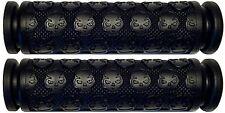 KAWASAKI ATV KFX 450 700 KFX450 KFX450R KFX700 BLACK THICK SKULL GEL HAND GRIPS