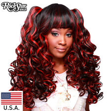 Gothic Lolita Wigs® Baby Dollight™ Collection -Black & Red Blend -00003 Wig USA