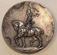 French Equestrian Bronze Medal V. Janvier 51 mm / N136