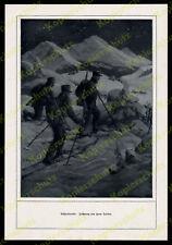 Hans Treiber Schipatrouille Gebirgsjäger Dolomitenfront  Alpenkorps Tirol 1916