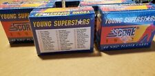Lot of 6 1992 Score Young Superstars Hockey Sets Factory Sealed Jagr Lindros