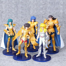 5 Models 2 Generations Saint Seiya Gold Saint Hyoga Shiryu Action Figure
