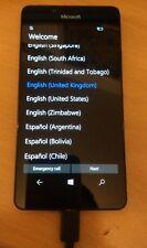 Microsoft Lumia 950 32 GB Nera Smartphone Sbloccato 4 G LTE difettosa non funzionante