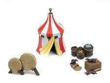 WWG Medieval Siege Tent, Barrel & Archery Set - 28mm Wargame Terrain Model 40k