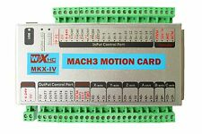 Mach3 USB XHC 4 Axis 2MHz CNC Motion Control Card Breakout Board MK4-IV