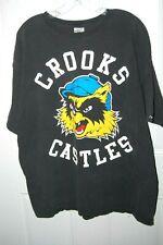 Vintage Crooks and Castles Men's T-Shirt xl tee EUC excellent extra large VS
