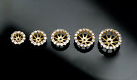 14K Solid Yellow Gold Created Diamonds Bridal Halo Stud Earrings Jackets