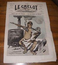 Le Grelot Journal Satirique N°144 Faut Qu'ça Passe Par Alfred Le Petit 1874