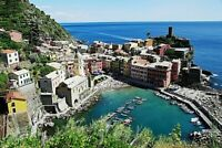 JIGSAW PUZZLE QUALITY 1000 PIECE LIGURIA ITALY SCENE COLOURFUL TRADITIONAL BOXED