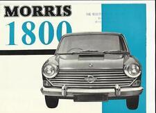 BMC MORRIS 1800 SALES BROCHURE APRIL 1966