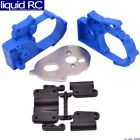 RPM R/C Products 73615 Gearbox Housing & R Mounts Blue:TRA 2WD Vehicles