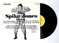 ESZ5871. The SPIKE JONES SHOW & VIC and SADE Vinyl Record Radiola LP MR-1010