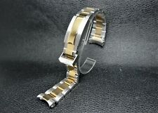 REPLACEMENT NEW 20MM TWO-TONE OYSTER BAND/BRACELET FOR ROLEX SUBMARINER WATCHES
