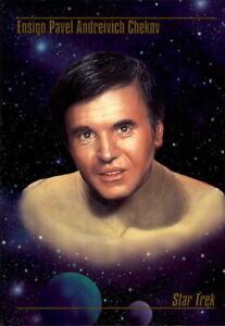 1993 Star Trek Master Series Trading Cards #7 Ensign Pavel Andreivich Chekov