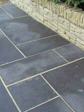 Black Limestone Paving 22mm Calibrated