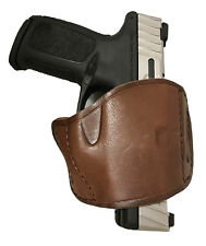 Pro-Tech Brown Leather Belt Gun Holster for Desert Baby Eagle Right Hand Draw