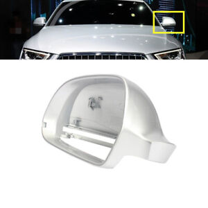 Fit For AUDI A6 2009-2011 Q3 2012-2017 Left Side Silver Trim Wing Mirror Cover