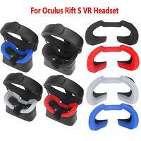 Silicone Eye Mask Cover Breathable Light Blocking For Oculus Rift S VR Headset