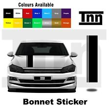 Bonnet Stickers Stripes Decals Vinyl For Volkswagen VW Polo Golf Lupo R GTI TSI