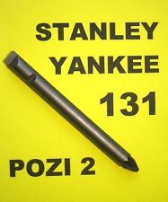 STANLEY YANKEE SCREWDRIVER 131B - PZ No2 BIT  POZIDRIVE 2   POZI 2