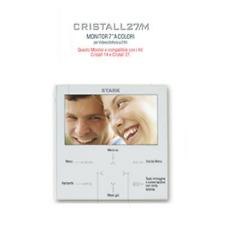 """Monitor 7"""" a colori CRISTALL27/M per videocitofoni a 2 fili"""