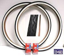 2 Copertone 2 Camere d'aria 26 x 3/8 da DONNA per bicicletta CLASSICA pneumatico